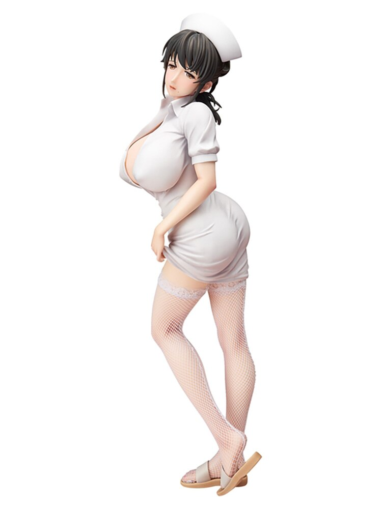 Liberar a Mami Akabane Sexy figura de Anime enfermera Pena de Muerte Hospital Akawa Asami PVC figura de acción de chica Sexy Mami Akabane de adultos de D