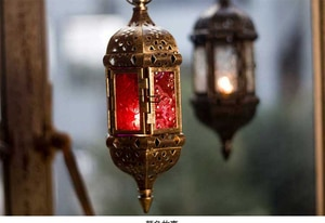 classic tealight iron metal candle holder hanging lantern rack for home holiday decoration black copper 2093