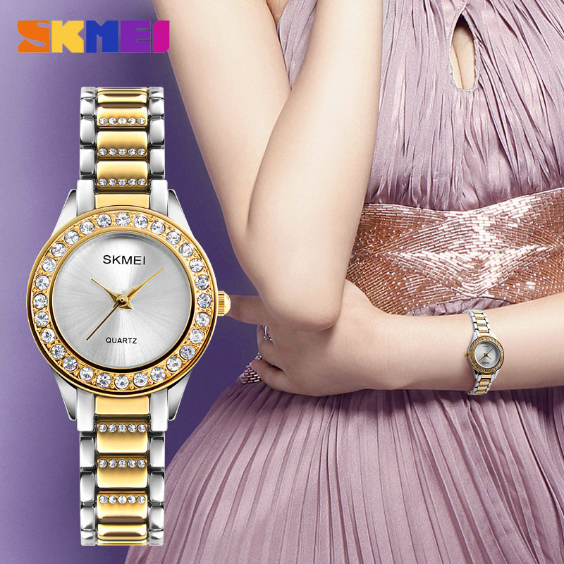 2020 SKMEI Simple Women's Watch Clock Ladies Quartz Watches Clock 30M Waterproof Female Wristwatch reloj hombr Montre Femme 1262 enlarge