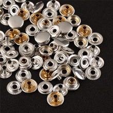 Kit de 50 pièces de boutons pression   En acier inoxydable avec outils pour bâche Camping couture TN99