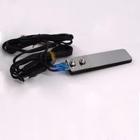 tattoo foot pedal switch stainless steel permanent makeup eyebrow lip eyeliner microblading for power supply tattoo machine gun
