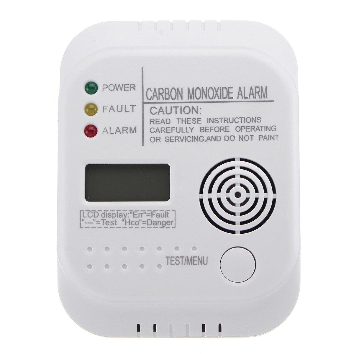 Новый детектор угарного газа CO цифровой сигнализации с ЖК экраном для домашней