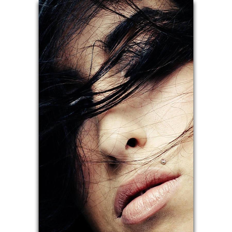 S1390 Amy Winehouse gran música cantante estrella arte de pared pintura impresa en lienzo seda póster decoración del hogar