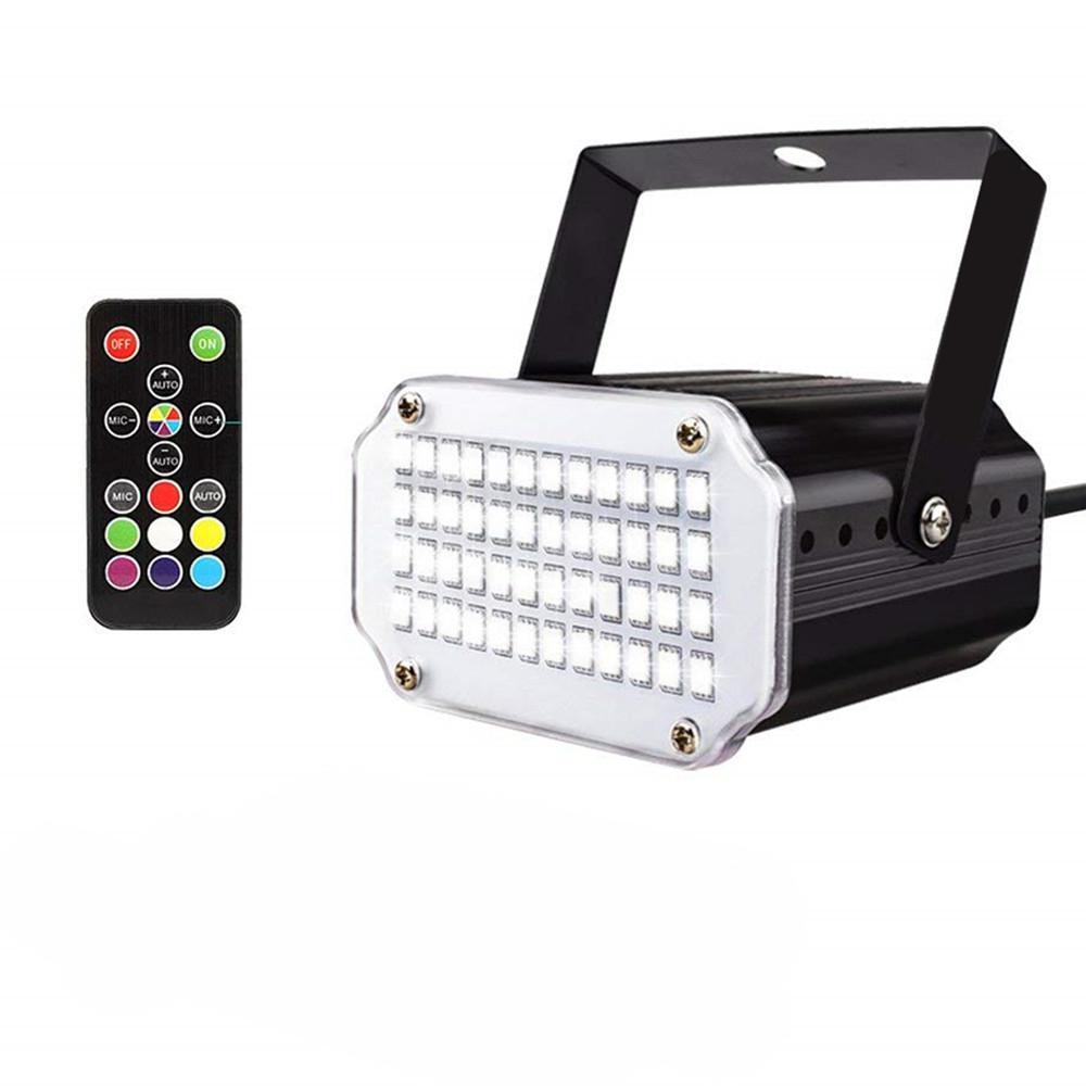 Música de som remoto rhythm flash luz led projetor laser palco dj discoteca luz clube dança luzes de festa iluminação efeito palco