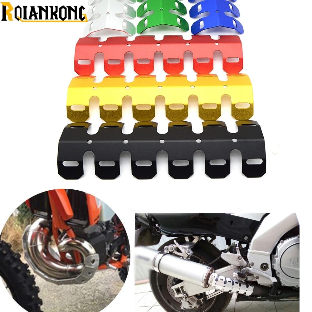 Новая мотоциклетная выхлопная труба глушителя теплозащитная Крышка для YAMAH TZR125 TZR250 WR400 WR450 XT225 TTR250 MT07 MT09