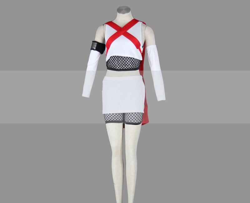 Customize Naruto Shippuden 7 Tails Jinchuuriki Fuu Cosplay Costume Outfit