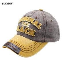 SUOGRY Hot Retro Baseball Cap Hiphop Cap Snapback Hat For Men Women Gorras Casual Casquette Letter Embroidery Black Cap