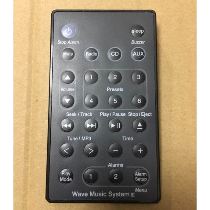Replace Remote Control ForBOSE Wave Music System AWRCC1 AWRCC2 AWRCC3 Player US with Battery