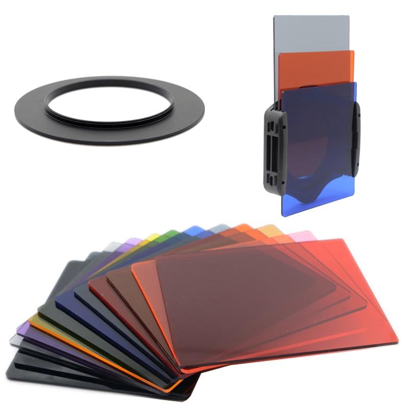 Knightx 49 52 55 58 62 67 72 77 82 mm suporte de filtro nd luz para canon 2000d nikon d5600 sony as300 cokin p câmera fotografia
