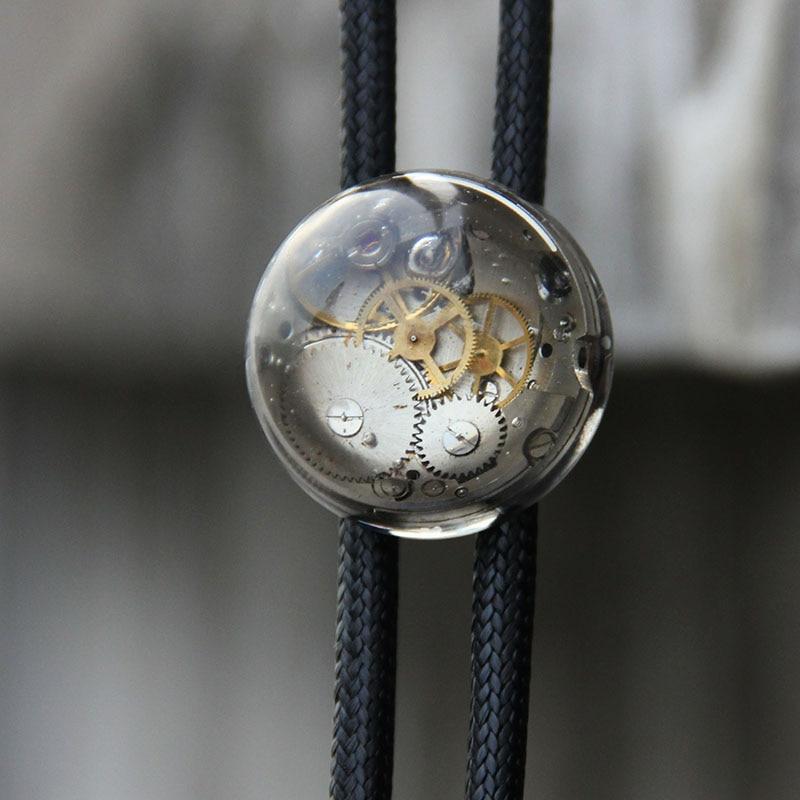 الأصلي مصمم البخار فاسق الراتنج بولو التعادل للرجال شخصية رابطة عنق bolotie الإكسسوارات