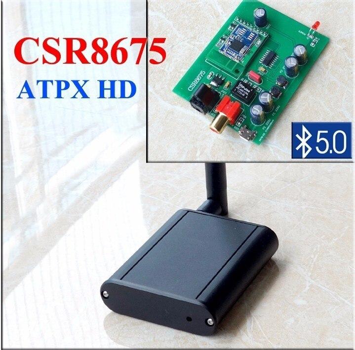 BT60 CSR8675 Bluetooth Coaxial de Audio Digital óptico receptor de Audio interfaz Bluetooth aptx HD Bluetooth 5,0