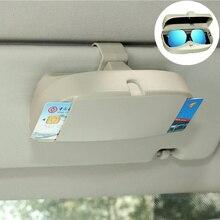 Caso Organizador Caixa de Armazenamento De Óculos De Sol Vidros do carro Bolsos para Peugeot RCZ 206 207 208 301 307 308 406 407 408 508 2008 3008-6008