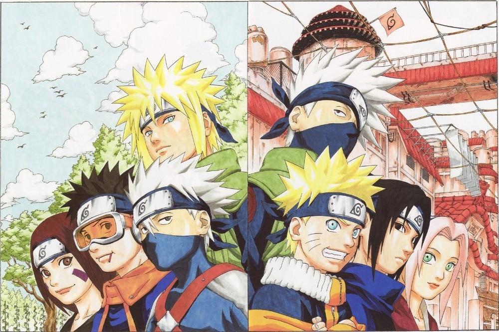 "Canvas Poster Silk Fabric P0088 Naruto Shippuden Anime Poster Living Room  Art Home Decor NEW "" -  Poster Home Decor Poster"