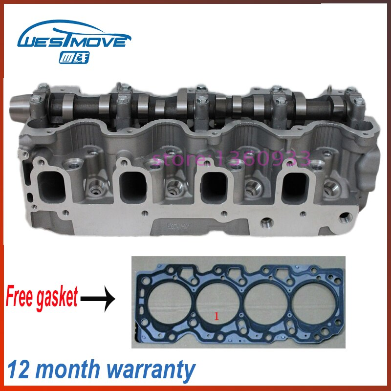 complete cylinder head assembly 11101-64390 1110164390 11101 64390 908 781 908781 for toyota 2.0L 2.2L ENGIEN : 2cte  3cte