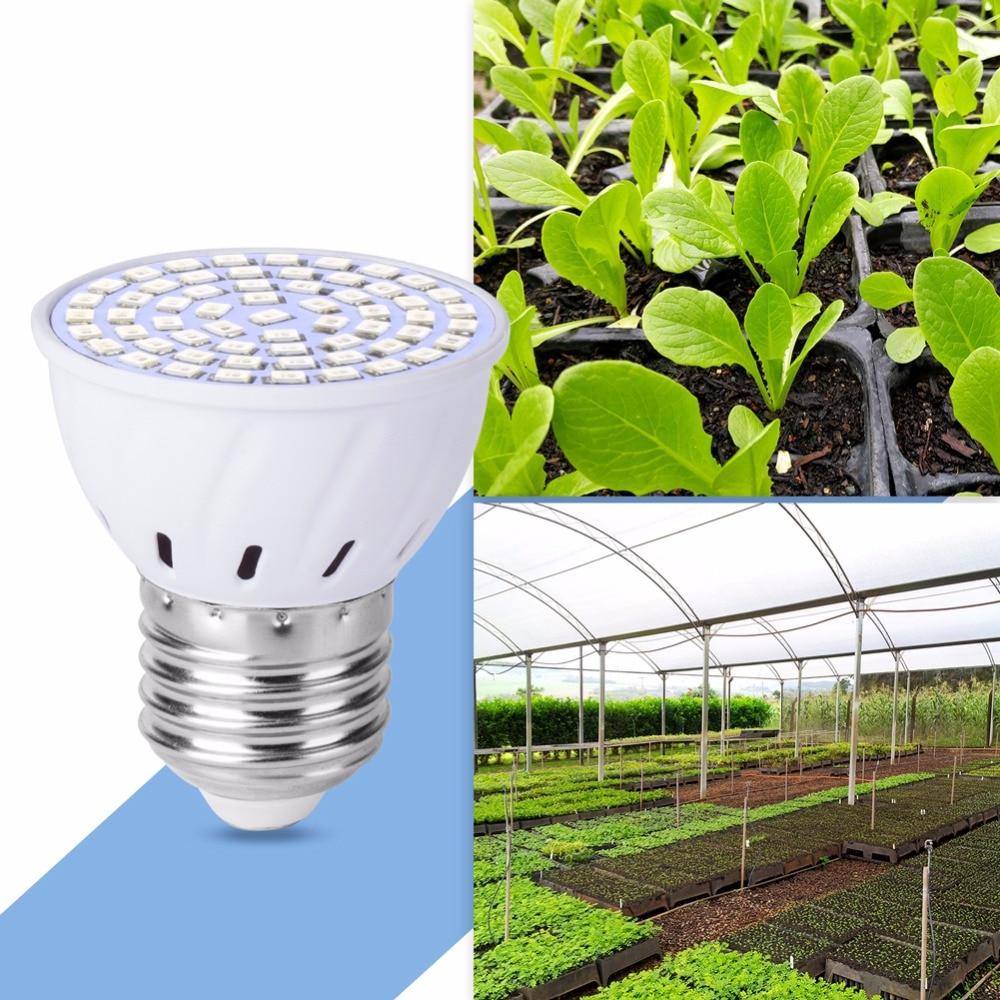 AC85-265V LED Grow Light для растений E27 лампа 220V Full Spectrum Bulb 20W 15W 6W Indoor Grow Tent Box Seedling 110V Bombillas B22