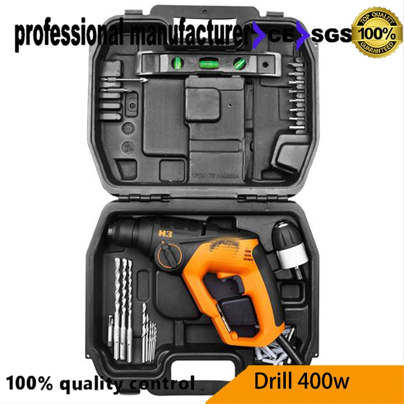 WX336 electrical impact driller home use drill smart drill 3in1 drill tool for wood steel hole for cement broken at good price enlarge