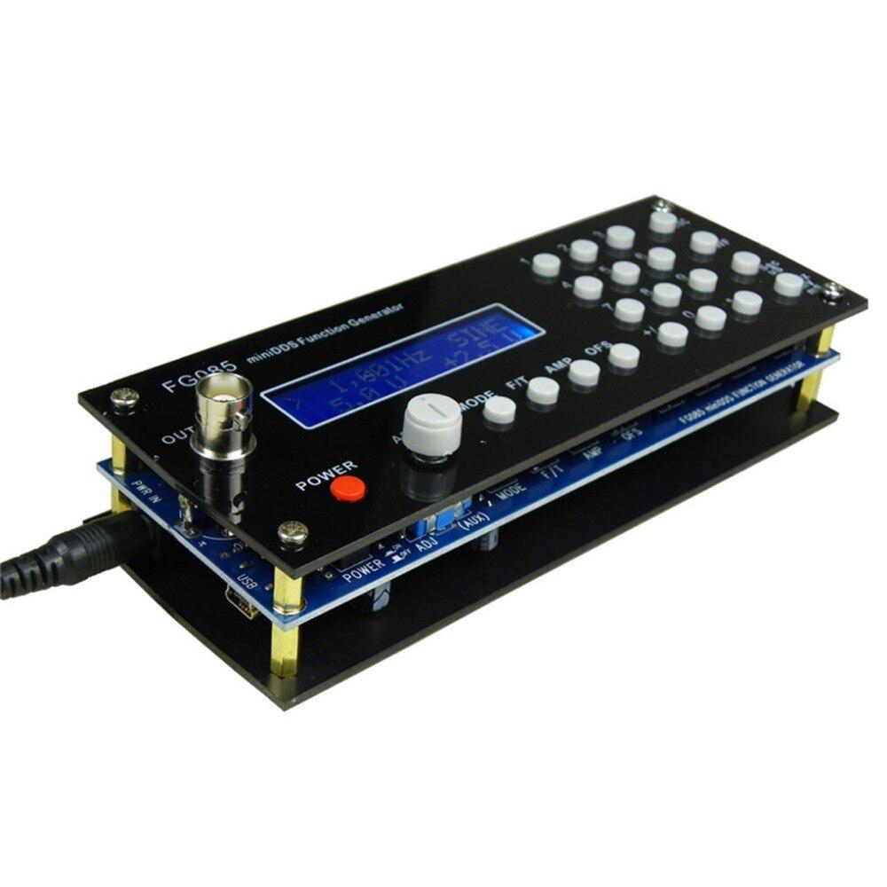 Generador de señal DDS, Mini generador de señal de función de síntesis Digital, Kit DIY con generador de onda de diente de sierra cuadrado de Panel sinusoidal