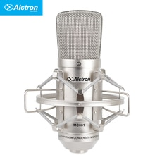 Alctron MC001 Professionelle Große Membran FET Studio Kondensator Mikrofon, Aufnahme Mikrofon.