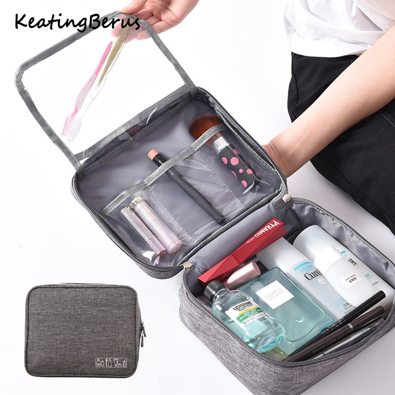 New large capacity cosmetic bag Multifunctional organizer cationic travel Makeup bag Waterproof wash bag Cosmetic Case high quality backpack bag in bag insert organizer travel makeup bag women cosmetic insert bag multifunctional large capacity