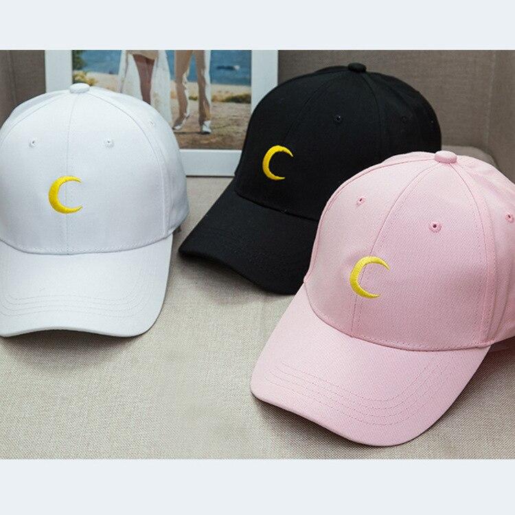 Nuevo marinero Luna Media luna papá sombrero bordado gorra de béisbol Harajuku de la hermana luna al por mayor de snapback sombrero de sol de los Amantes