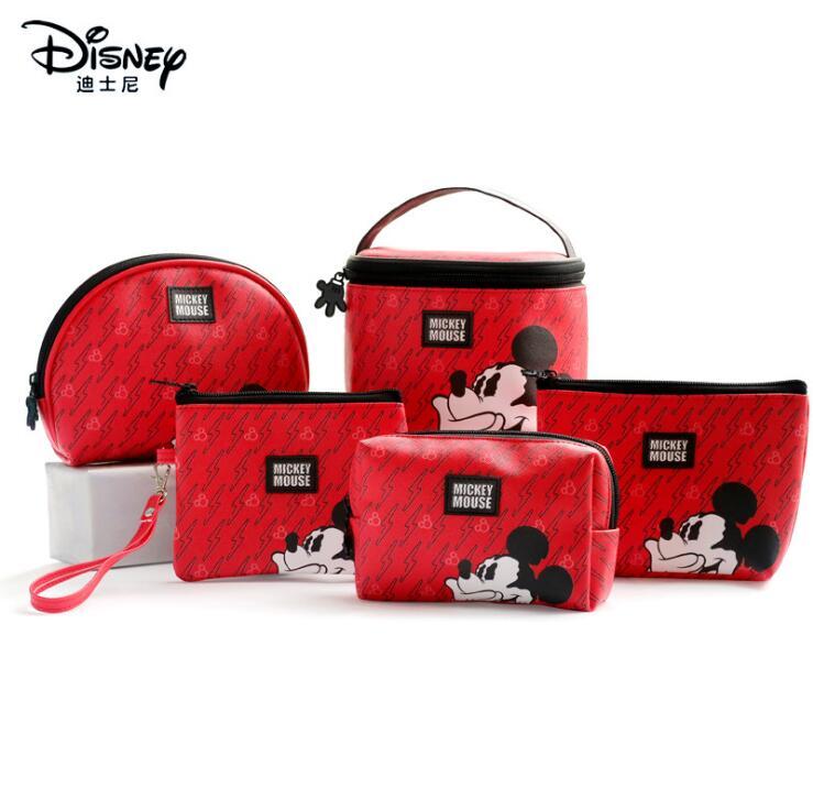Genuino Mickey Mouse niños juguete multifunción mujer bolsa monedero cuidado del bebé moda momia bolsa niños regalo gran oferta