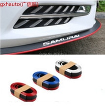 Bumper Lip Deflector Lips For Subaru Impreza WRX STi XV Front Spoiler Skirt For TopGear Friends Car Tuning / Body Kit / Strip