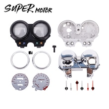 Accesorios para motocicleta, Kit de caja de instrumentos, velocímetro, cubierta de calibre para Honda Hornet CB250 Hornet250