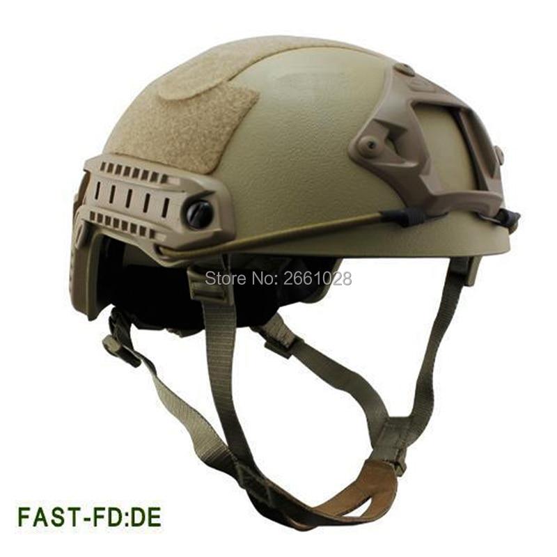 Hunting Shooting NIJ IIIA FAST Bulletproof Helmet Core Ballistic Helmet Camo Bullet Proof For Tactical Outdoor Hunting