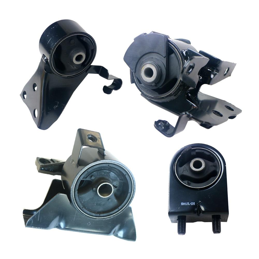 Motor y Transporte de Montaje Set para Mazda Protege 2.0L 01-03 4 UNIDS AUTO TRANS, A6485 A6486 A6464 A6481