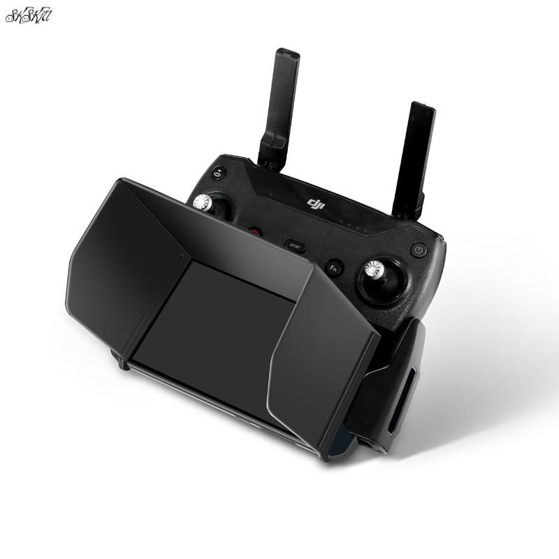 Montagem de controle remoto telefone tablet sol capa para dji mavic mini/pro 1/faísca/ar/mavic 2 pro & zoom fantasma zangão