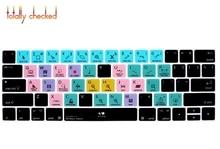 """Для Macbook Pro 13 """"15"""" сенсорная панель A1706/A1707 Steinberg Cubase функция быстрого доступа силиконовый чехол для клавиатуры"""