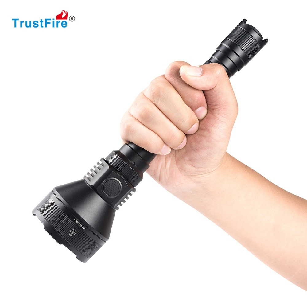 Orignial TrustFire T70 LED Flashlight Cree XHP35 2300LM 1000m Distance Rechargeable Tactical Flashlight for Rifle Hunting enlarge