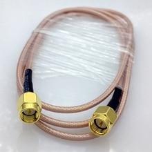 1 метр RG316 SMA РЧ коаксиальный кабель SMA папа к SMA папа кабель SMA разъем Переключатель