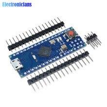Pro Micro ATmega32U4 5V 16MHz carte Module remplacer Pro Mini ATmega328 4 canaux microcontrôleur avec broches en-tête pour Arduino