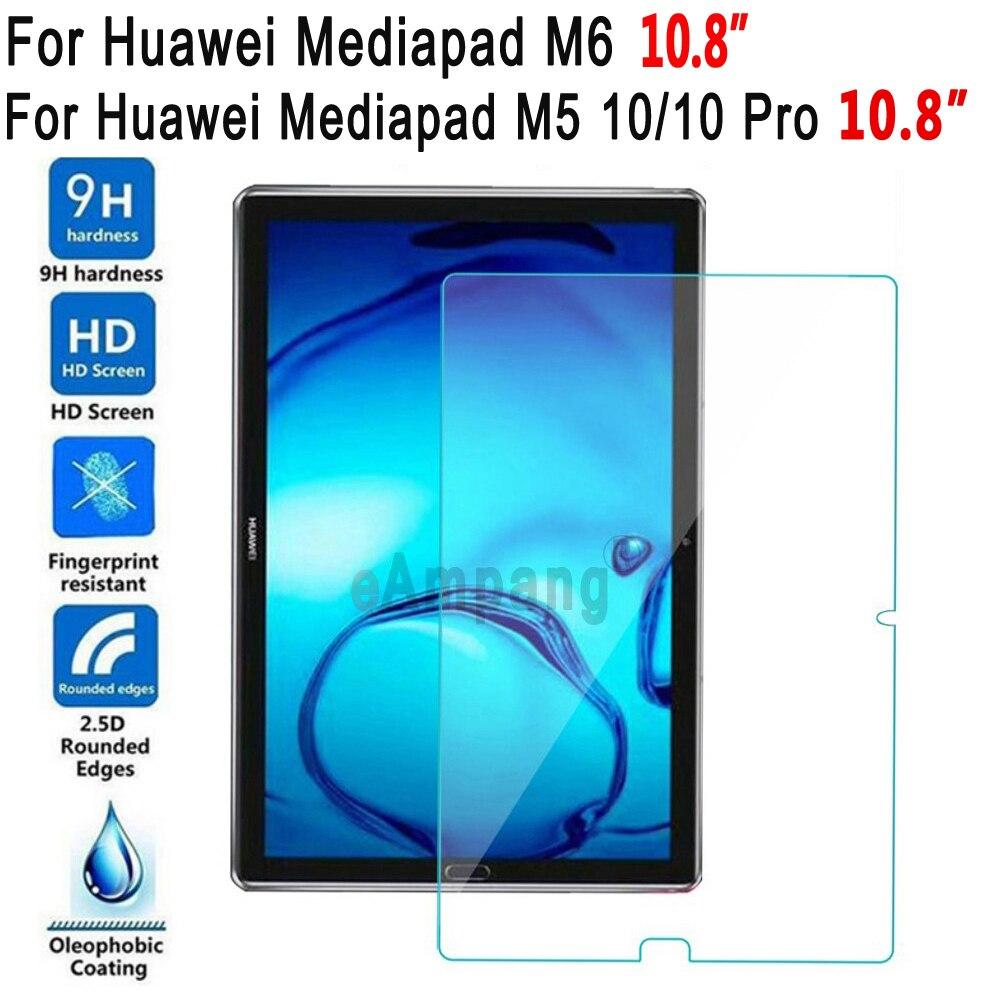 Закаленное стекло для Huawei Mediapad M5 10 Pro M6 10,8 Защитная пленка для экрана планшета для Huawei M5 10 Pro 10,8 M6