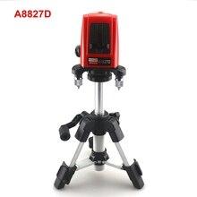 Niveau Laser ACUANGLE A8827D 3 lignes niveaux Laser ligne rouge 3 points avec trépied AT280