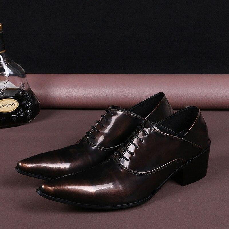 Choudory/Модные Мужские модельные туфли коричневого, коричневого, черного, коричневого цвета свадебные туфли из натуральной кожи на плоской по...