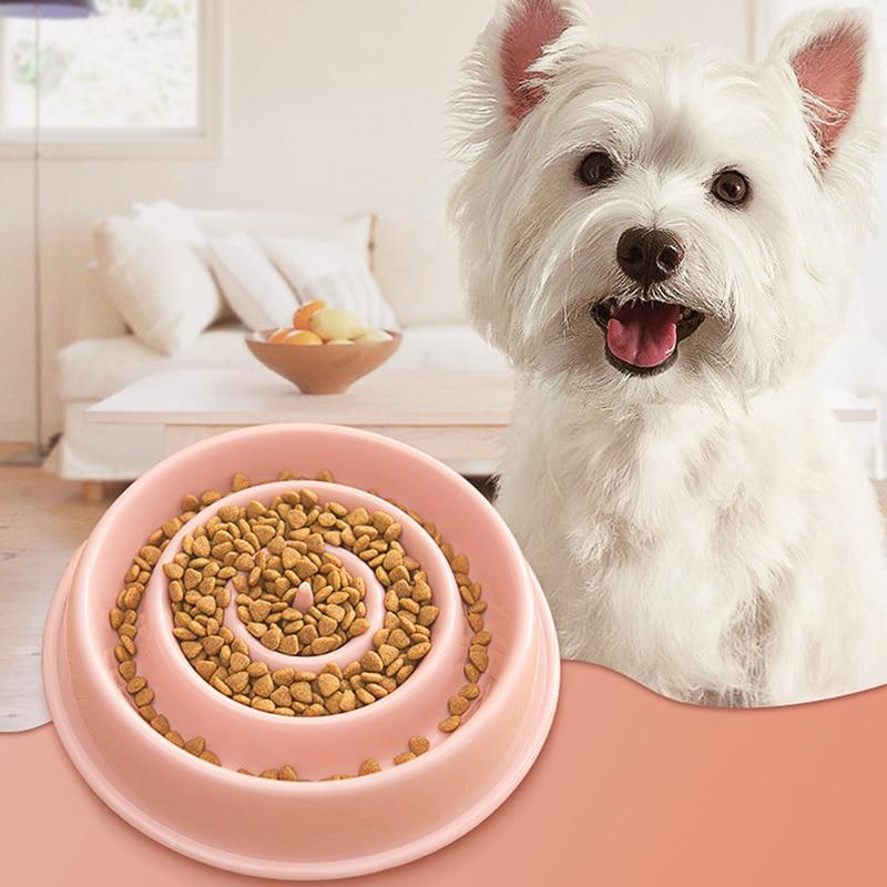 Tazón de perro interactivo, Alimentador de comida lenta y saludable, cuenco de...