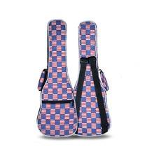 Good quality cute 21 26 concert ukulele bag soprano case lanikai tenor guitar padded backpack colorful portable shoulder straps
