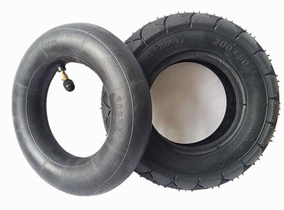 Pneu pneumático de 8 polegadas para scooter elétrico com o tubo interno