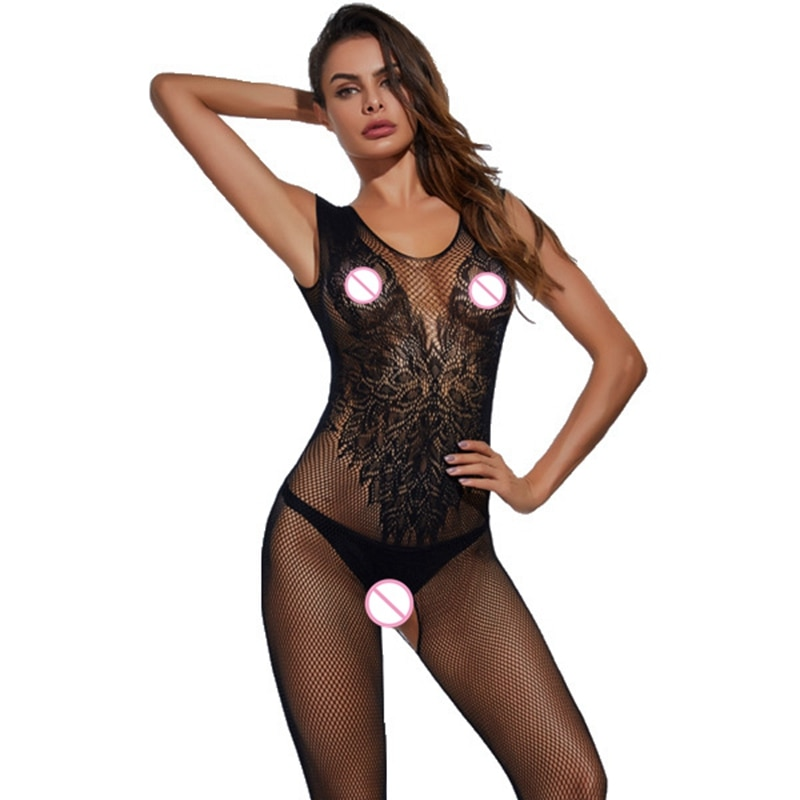 Hot Woman Teddies Sex Body Stocking Novelty & Special Use Exotic Apparel Vest Sexy Lingeries Angle W