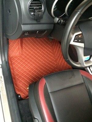 Alfombrillas de coche personalizadas para Citroen C2 C4L C5 Elysee C4 Aircross c-qurtre C4 Picasso DS4 alfombra de coche estilizada para todo el tiempo