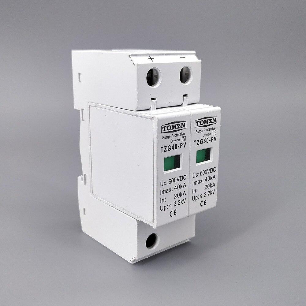 Защитное устройство от перенапряжения SPD DC 600V 20KA ~ 40KA House