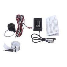 Darmowa wysyłka elektromagnetyczny czujnik parkowania alarm dźwiękowy elektromagnetyczny Auto pomoc w parkowaniu samochodów nie ma potrzeby otwory nie wiercone