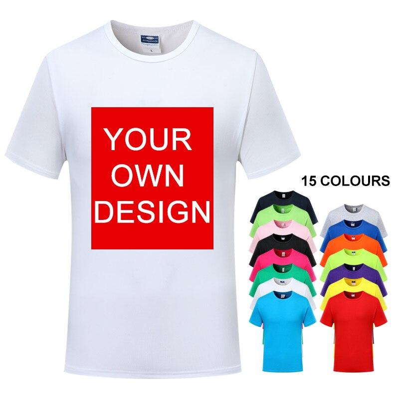 Nueva Camiseta de algodón, camiseta transpirable de secado rápido para verano, camiseta informal con estampado, camiseta de manga corta para hombre y mujer