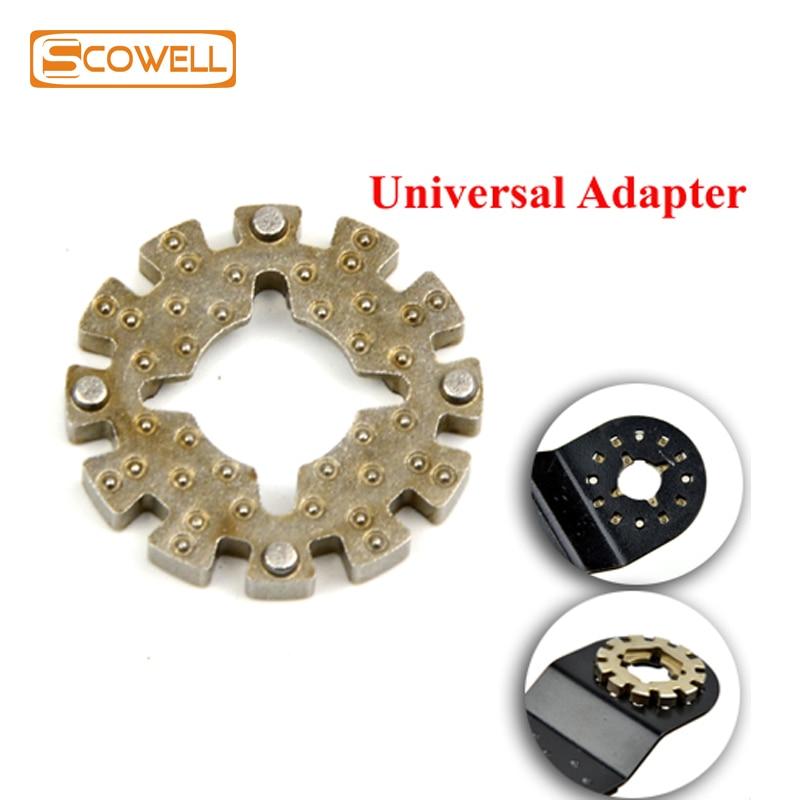 Осциллирующий многоцелевой хвостовик-адаптер для всех видов многофункциональных электроинструментов, адаптер осциллирующихся пильных лезвий (не для starlock)