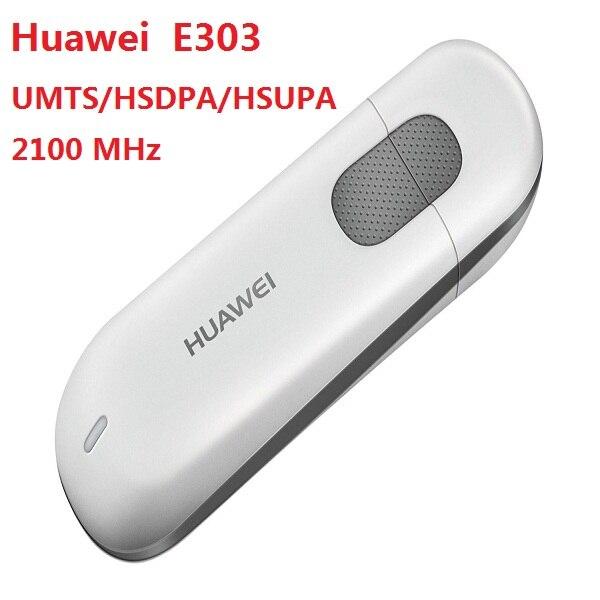 Desbloqueado 7,2 Mbps Huawei E303 3G HSDPA Modem 3G USB stick de módem usb 3g PK E1750 E1550 E3131 E160 E173 e180 e169 e169g e392