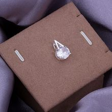 P257_2 brillant colliers pour femmes charme couleur argent mode 925 bijoux ensets flèche/atrajkya Ayqajpxa