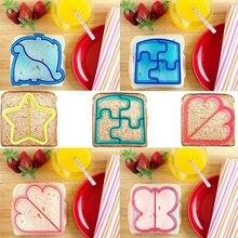 Fini le déjeuner ennuyeux 10 formes bricolage Sandwich et pain croûte Cutter moules pour les enfants