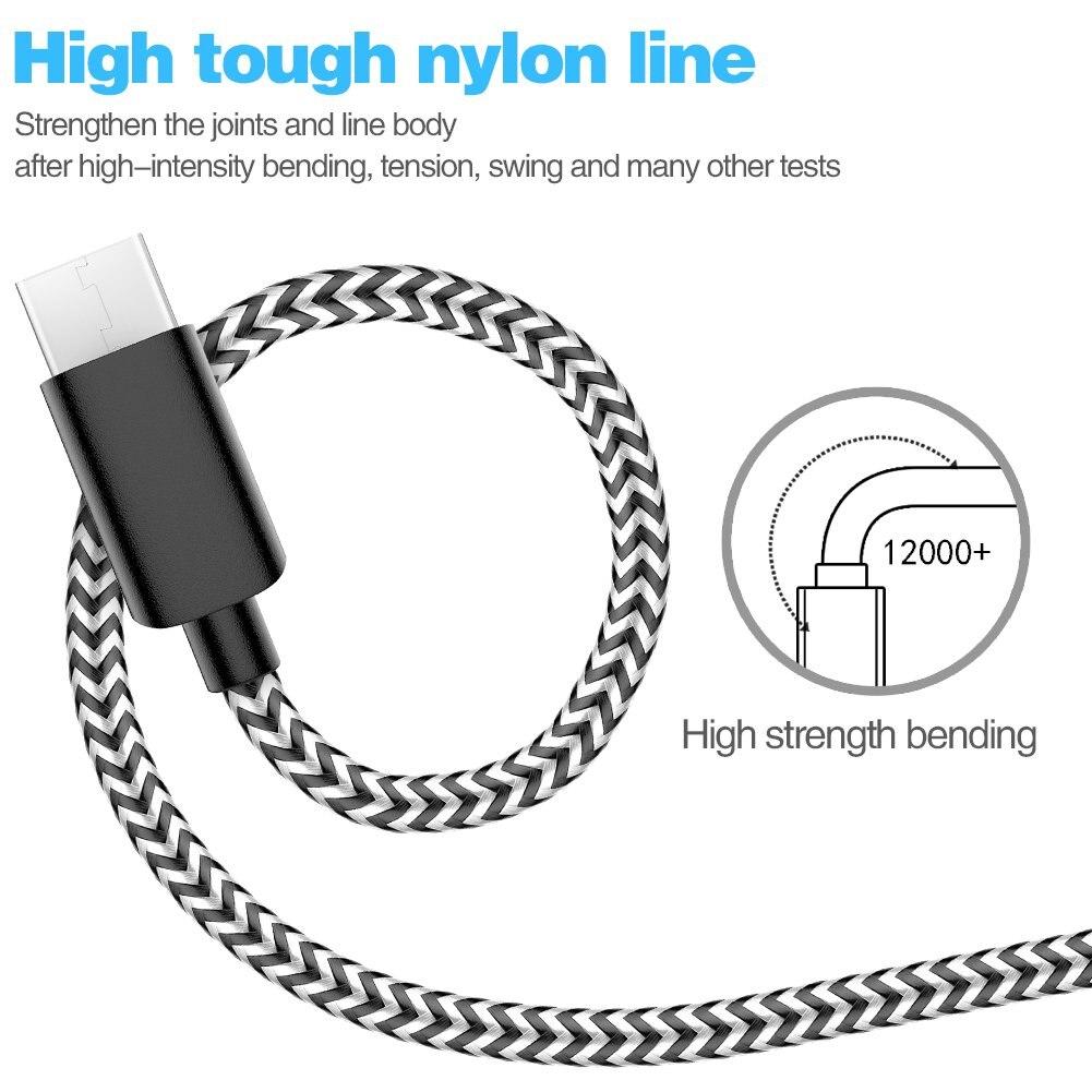 LETV-Cable de carga USB 3,1 TYPE-C LEECO 3A, Cable de sincronización de...